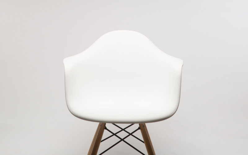Design protection: White chair on white background